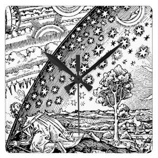 Flammarions Wanderer Fyrkantig Klocka