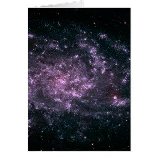 Flår den avlägsna galaxen för WII Hälsningskort