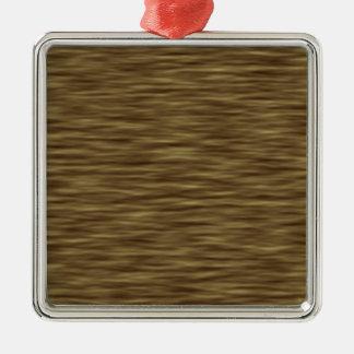 Flår wood trevligt gulligt för lägenhet fodral julgransprydnad metall