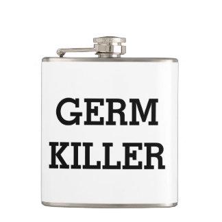 Flaska för andar för sprit för bakteriemördarealko fickplunta