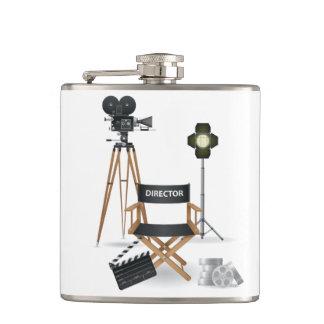 Flaska för filmdirektöruppsättning fickplunta