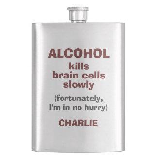 Flaska för namn för anpassningsbar för celler för fickplunta