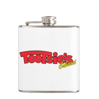 Flaska för Tootsieskabaretrostfritt stål Fickplunta