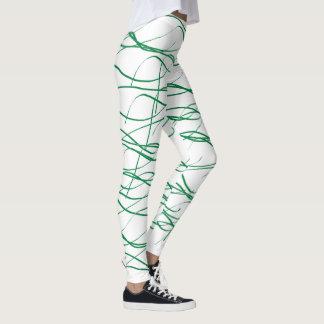 Fläta samman damasker leggings