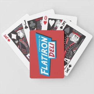 FlatIron Delikort Spelkort