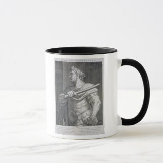 Flavius Domitian (ANNONS 51 - ANNONS 96) kejsare Mugg