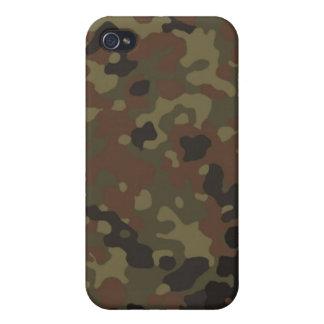 Flecktarn cammomönster iPhone 4 hud