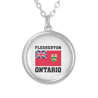 Flesherton Ontario Kanada Silverpläterat Halsband