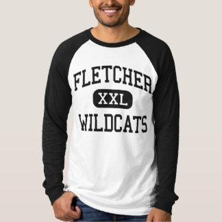 Fletcher - vildkatter - kick - Fletcher Oklahoma T-shirt