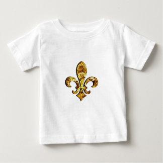 Fleur De Lis Flor New Orleans guld utrustar T-shirts