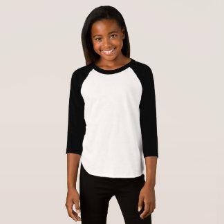 Flicka amerikandräkt 3/4 sleeveRaglanT-tröja T-shirts