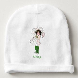 Flicka för barn för blomma för daisyvintage blom-