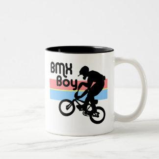 Flicka för BMX-pojke/BMX Två-Tonad Mugg
