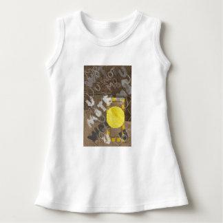 Flicka för dörrknopp klänning t-shirts