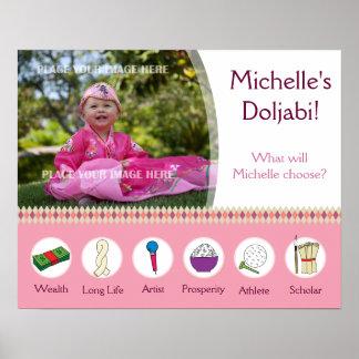 Flicka för födelsedag för Doljabi affisch 1st