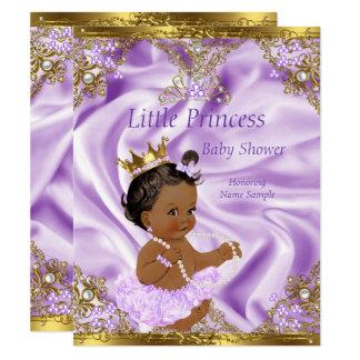 Flicka för person som tillhör en etnisk minoritet 10,8 x 14 cm inbjudningskort