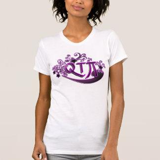 Flicka för söt för QTPi Phonetic Cutie pajie T Shirts