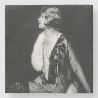 Flicka för Ziegfeld galenskapkör Underlägg Sten