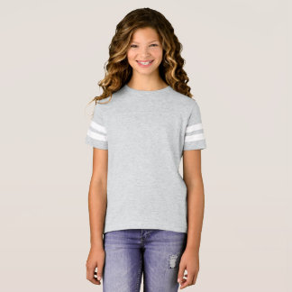 Flicka fotbollskjorta t shirt