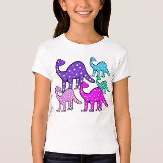 Flicka gåva för T-tröja för tecknad för rosa- & Tee Shirt
