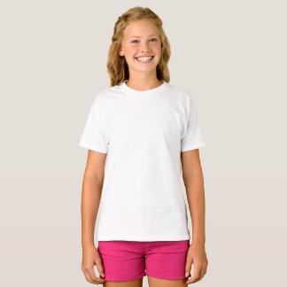 Flicka Hanes TAGLESS® T-tröja Tröja