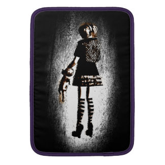 Flicka i Goth MacBook Air Sleeve