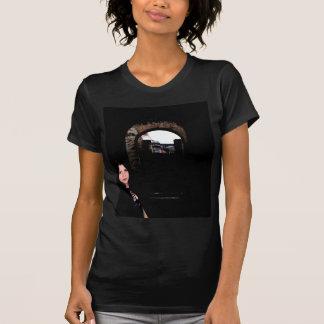 Flicka i mörken tshirts