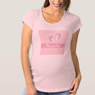 """""""Flicka"""" moderskapskjorta T Shirt"""