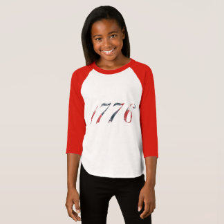 Flicka Raglan 1776 T Shirts