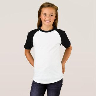 Flicka T-tröja för kortärmadRaglan T-shirt