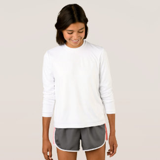 Flicka T-tröja för långärmad för Tee Shirt