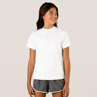 Flicka T-tröja för Sport-Tekkonkurrent Tröja