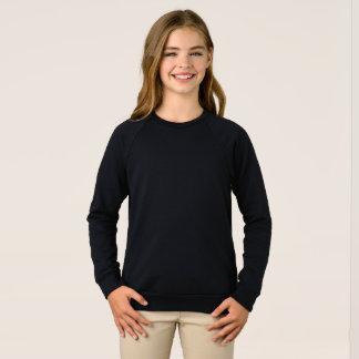 Flicka tröja för Raglan för amerikandräkt