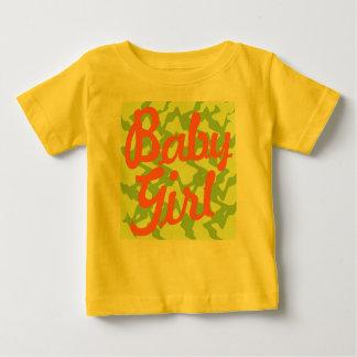 Flicka - tropisk look t shirt