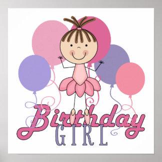 FlickaBallerinafödelsedag Posters