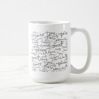 Flickaklottermugg Kaffemugg