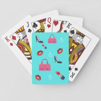 Flickaktigt Emoji Spel Kort