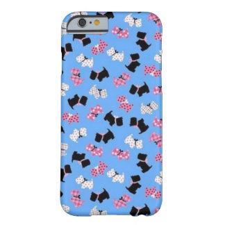 Flickaktigt fodral för Westie trycktelefon Barely There iPhone 6 Fodral