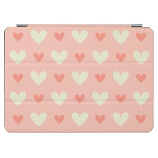 Flickaktigt kärlekhjärtor - elegant och chic iPad air skydd