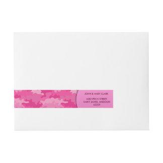 Flickaktigt mönster för kamouflage för etikettband