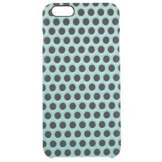 Flickaktigt mönster för polka dots för clear iPhone 6 plus skal