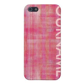 Flickaktigt mönstrar rosor ditt kända fodral iPhone 5 skydd