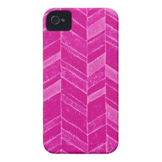 Flickaktigt neonrosasparre Case-Mate iPhone 4 skydd