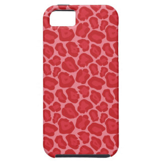 Flickaktigt rött LeopardmönsterIphone 5 fodral iPhone 5 Cases