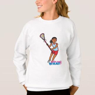 FlickaLacrossespelare - mörk T-shirts