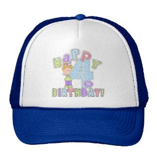 Flickalycklig4e födelsedagen baseball hat