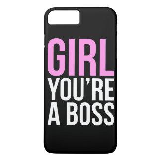 Flickan är du en chef