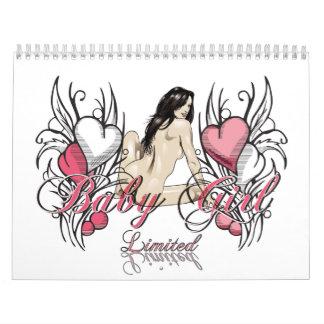 Flickan begränsade kalender 2010