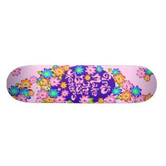 Flickan driver skateboarden mini skateboard bräda 18,7 cm