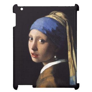 Flickan med ett pärlemorfärg örhänge av Johannes iPad Skydd